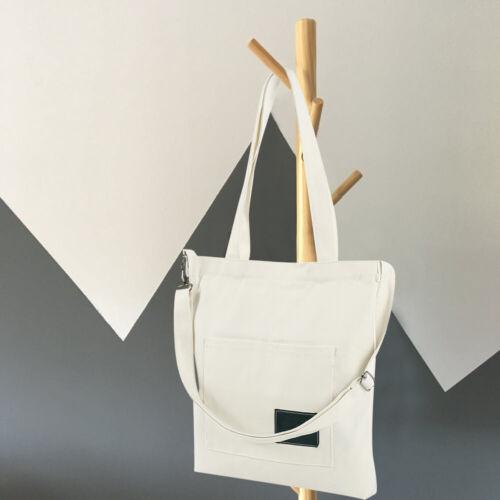 Women Canvas Handbag Shoulder Bags Large Tote Purse Travel Messenger Hobo Bag US