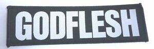 Godflesh-034-Logo-034-Patch-NEW-streetcleaner-pure-songs-love-hate-messiah