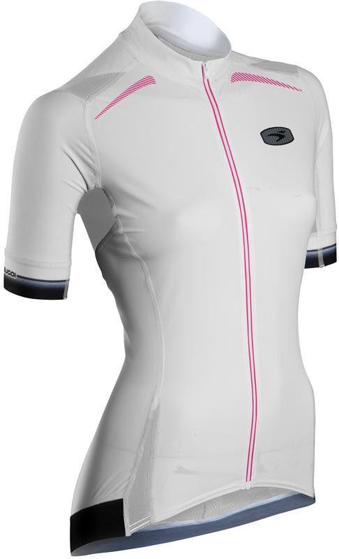 Wouomo RSE Short Sleeve Cycling  Bike Jersey in bianca by Sugoi