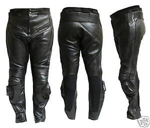 Pantalone-Moto-in-Pelle-JF-Pelle-mod-9200-Nero-TAGLIA60