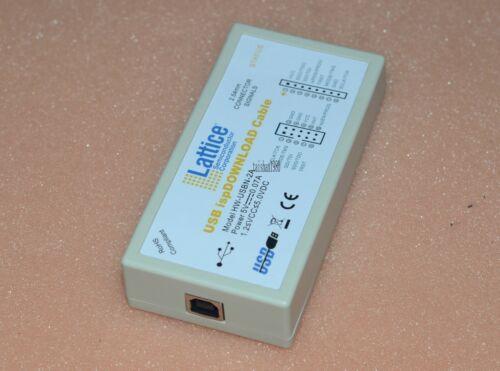USBN lattice USB download line FPGA CPLD ISP download simulation HW 2A