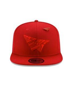 2020-Brand-New-Paper-Planes-Roc-Nation-Red-Adjustable-Snapback-Hat-Cap
