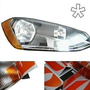 US - Design - Folie für Scheinwerfer Tuning VW Golf 7 / Golf VII 12-17 Halogen