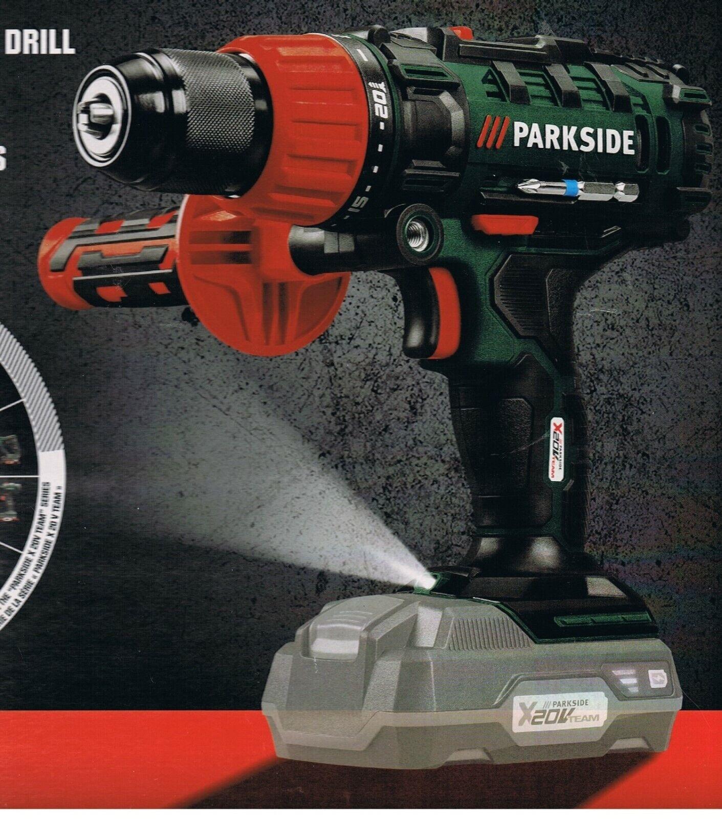 2 Gang Akku Schlagbohrschrauber 20 V ohne Akku + Ladegerät, 45 Nm, PSBSA 20-Li