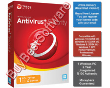 Trend Micro Antivirus + Security | 1 PC | 2 Year | Brand New | Online Delivery