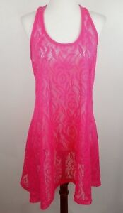 7a9ebcca0a84c OP OCEAN PACIFIC WOMEN'S SIZE M 7-9 HOT PINK SWIMSUIT COVER UP DRESS ...