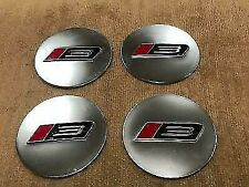 Roush Racing Ford Mustang Challenger Stage 3 Wheel Rim Center Cap Emblems Set Of
