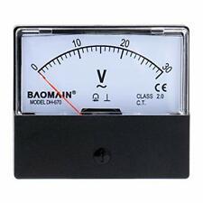 Baomain Voltmeter Dh 670 Ac 0 30v Rectangular Class 25 Analog Panel Volt Vol