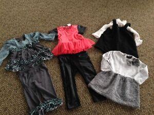 Lot Of Baby Girl Clothes 9 12 M Kardashian Kids Cynthia Row Isobella Chloe7 Pc Ebay