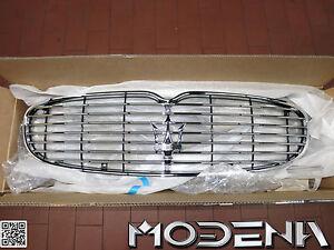Kuehlergrill-vorne-Front-Grill-Tridente-Chrom-Dreizack-Maserati-QP-Standard