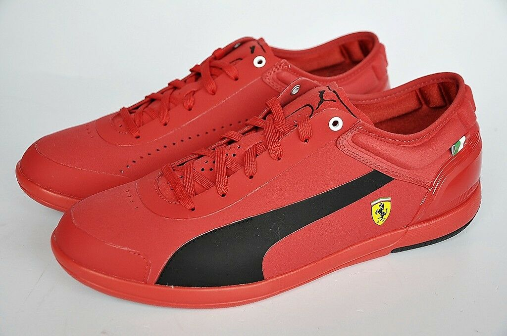 Puma Schuhe DRIVING POWER LIGHT LOW SF Ferrari Sneaker rosso rot Gr. 40 NEU