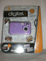 Digital Concepts Pink 2.1 Megapixel Digital Camera With 1.4 Preview Screen Nip
