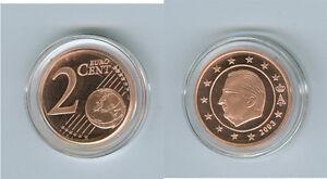 Belgique 2 Cent Pp / Proof (Choisissez Entre : 1999 - 2018)