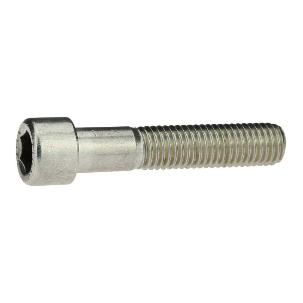 DIN 912 Zylinderschraube, Innensechskant M 4  A4 blank Teilgewinde