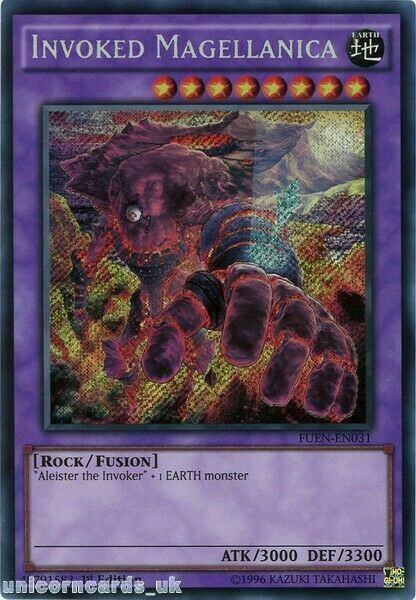 Invoked Magellanica FUEN EN031 Secret Rare 1st Edition Yugioh