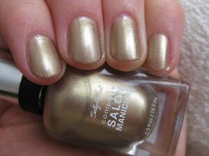 Image Is Loading Sally Hansen Gilty Pleasure Gold Nail Polish Color