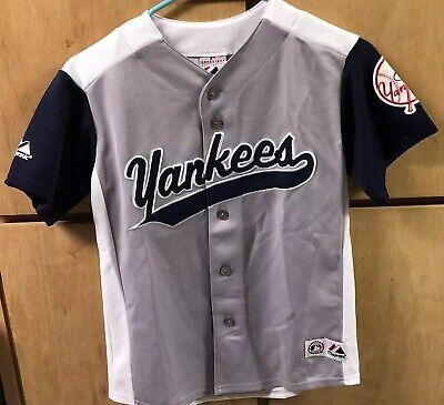 buy online 30a81 733ee New York NY Yankees Derek Jeter MLB Baseball Jersey, Sz Youth Medium 8-10    eBay
