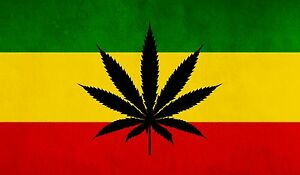 image is loading new rasta rastafari rastafarian flag with weed symbol