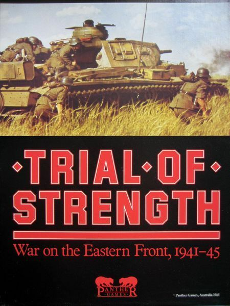 Trial of Strength War on the the the Eastern Front Panther Games Unpunched 1985 b9 c38b64