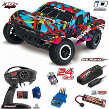 Traxxas 58034-1 Slash 1/10 2WD Short Course Truck HAWAIIAN RTR w/ TQ / iD