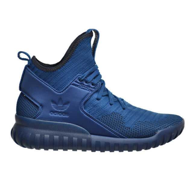 new product edc17 6f42c Adidas Tubular X Prime Knit Mens Shoes Navy Tech Steel/Tech Steel/Black  s80131