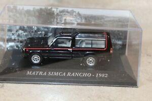 MATRA-RANCHO-MIDNIGHT-1982-1-43-IXO-ALTAYA-sous-boite-034-vitrine-034