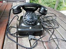 Telefon W48 Bakelit Wählscheibe ALT FUNKTIONSTÜCHTIG TOP ZUSTAND von 1961