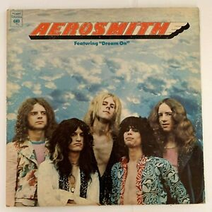 Aerosmith-Aerosmith-1973-Vinyl-LP-Condition-VG