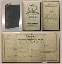 Richter Die Berg- und Hüttenknappen des Königreichs Sachsen 1833 Festschrift xz