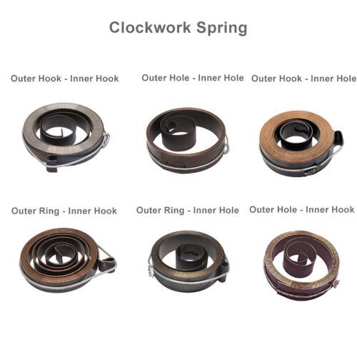 Clockwork Spring Bench Drill Milling Machine Quill Return Spring Spring Steel