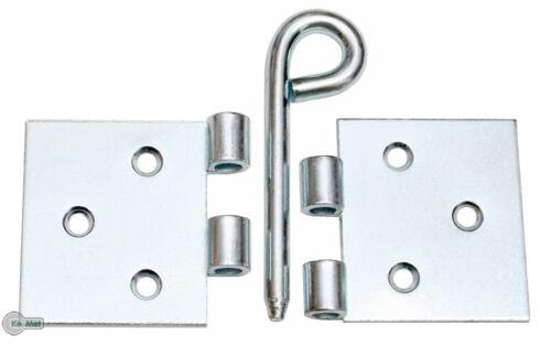 Kulissenscharniere Tischbänder Breit 50 x 100 x 2,0 Tischband lose Silber Verzin