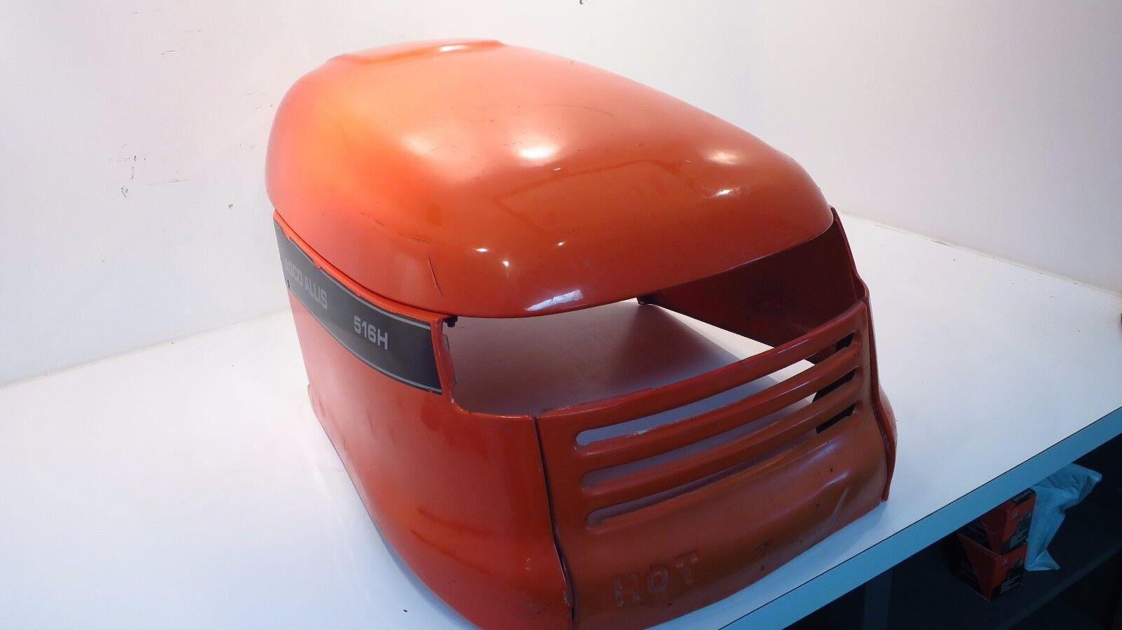 Original Equipment Manufacturer Simplicity Agco Allis Naranja capucha se ajusta 514H 1693074 1693 075 1693076