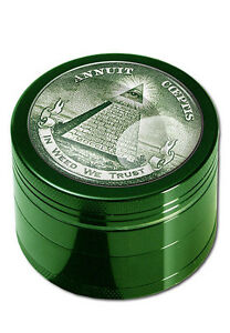 Black-Leaf-Alu-Grinder-4-pzas-50mm-en-Weed-We-Trust-tamiz-molino-gewurzmuhle-nuevo