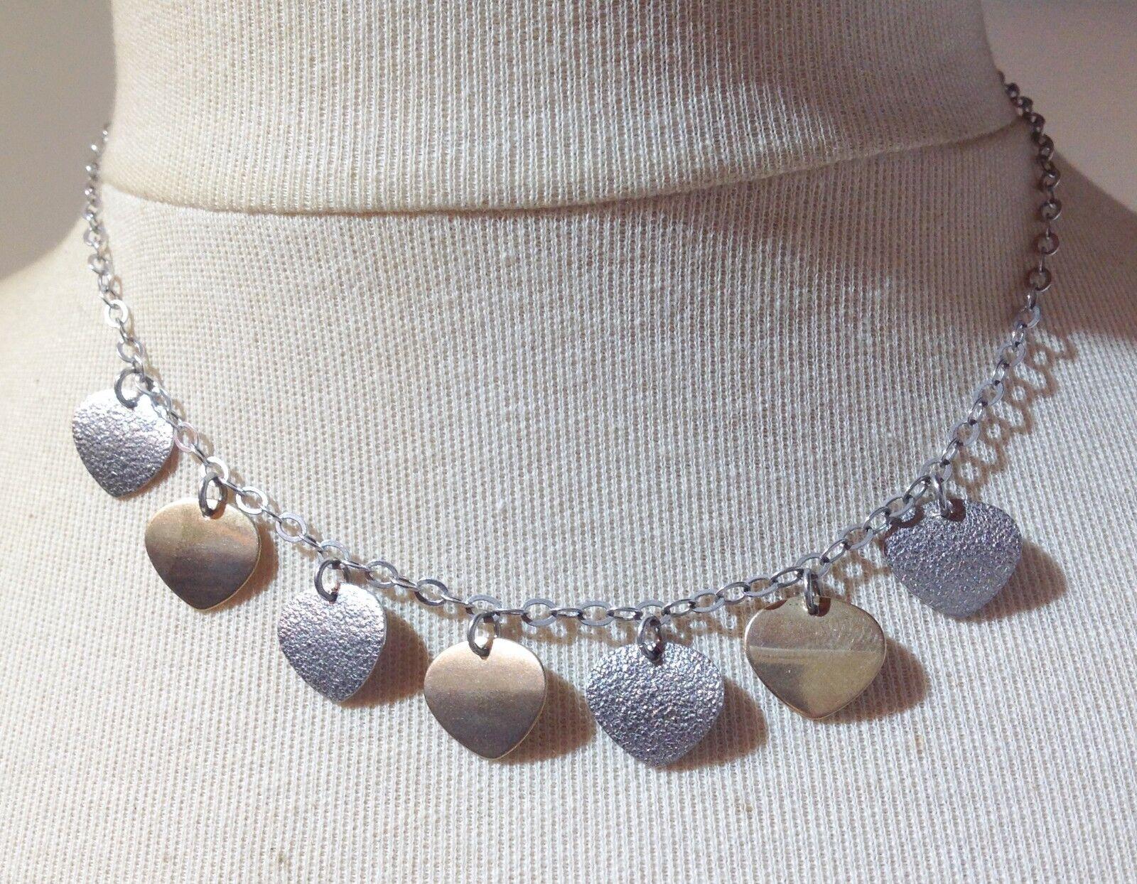 Collier vintage argento 925 pur poinçon poinçon poinçon pampilles vermeil et argento diamanté 5329 8d3a3a