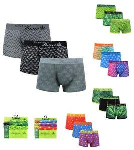 Printed Mens Location Boxer Shorts Trunks Gift Underwear Novelty Cotton Boxers