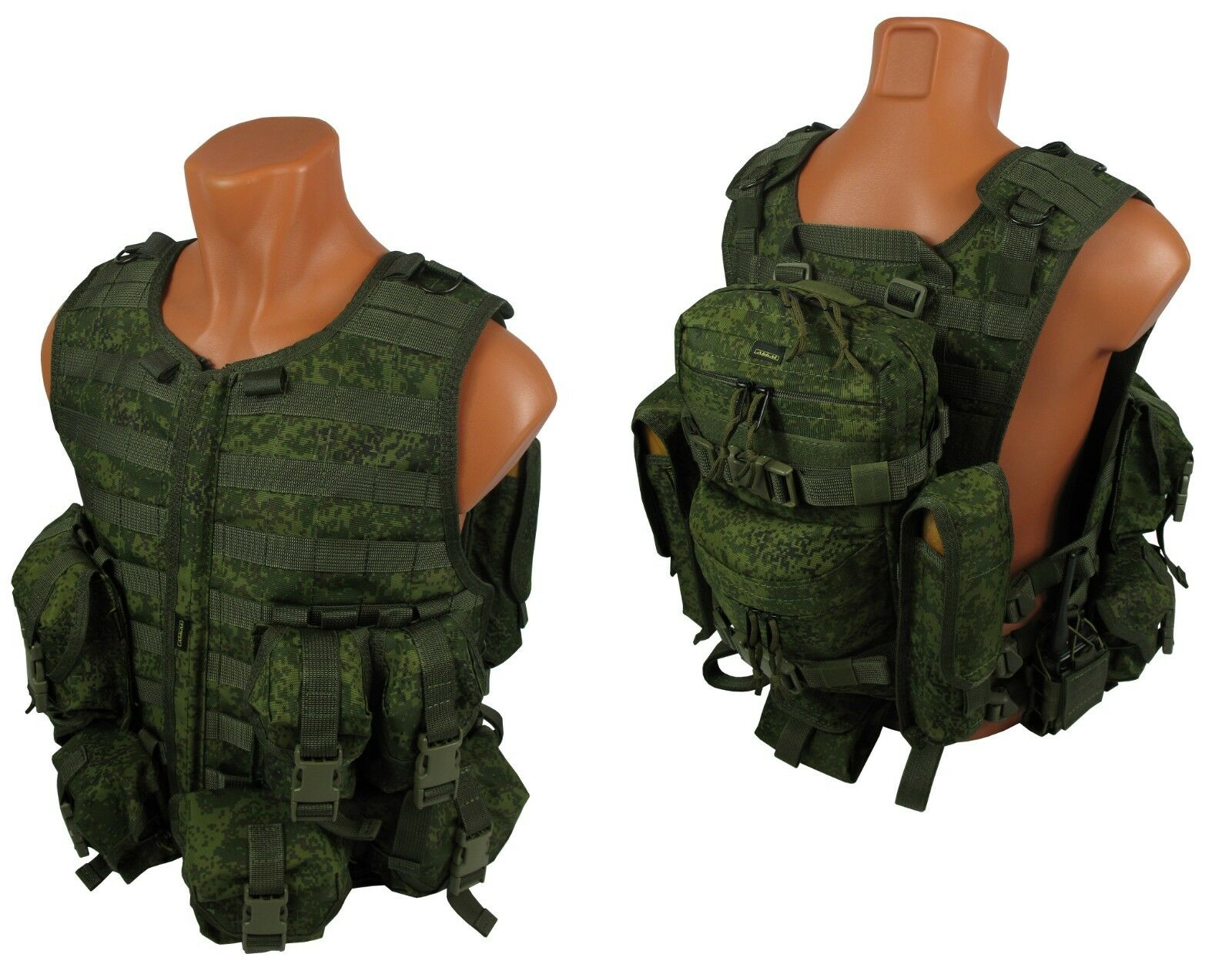 Molle paintball milsim vest  Airsoft Modular chest rig kit №60 emr pixel olive  online shop