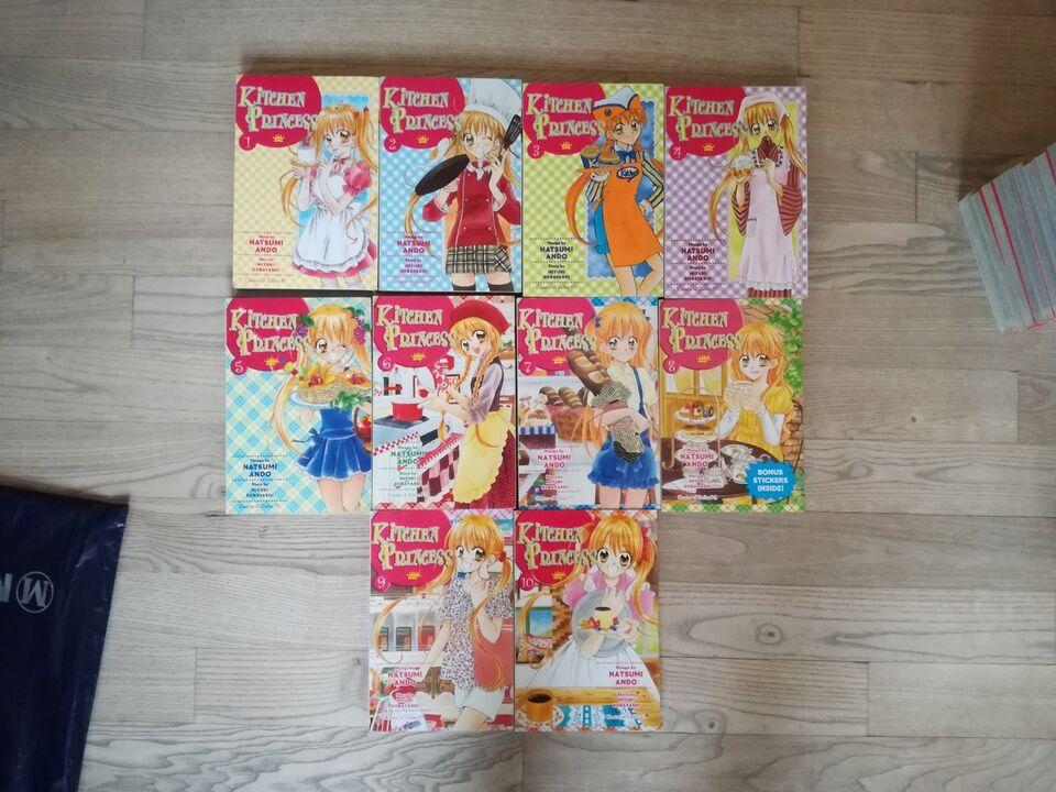 Manga - Kitchen Princess - alle 10 bind, Natsumi Ando,