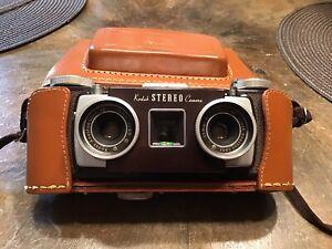 Vintage Kodak Stereo Camera Anaston Lens 35mm Ebay