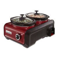 Crock-pot Hook Up® Connectable Entertaining System, Two 1-quart, Sccpmd1-master