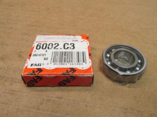 FAG 6002C3 BEARING OPEN 6002 C3 15x32x9 mm