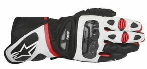 GUANTI-MOTO-ALPINESTARS-SP-1-BLACK-WHITE-RED-PROT-CERTIFICATE