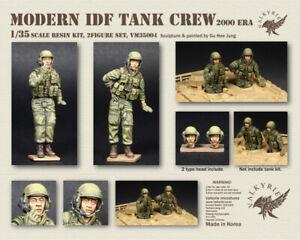 Valkyrie Miniature  VM35004,  Modern IDF Tank Crew - 2000 Era (2 Figures) , 1:35