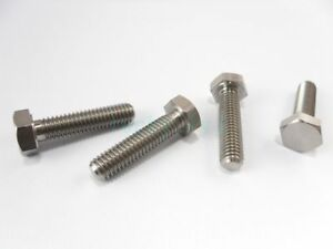 Titanium-Bolts-M6-x-10-15-20-25-30mm-Length-Ti-Hex-Head-Screw-Fastener-Grade-5