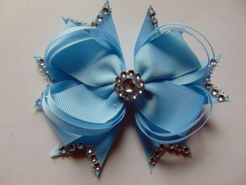 4.5 inch 12 cm Hair Bow medium Dance Moms girls hair clips kids