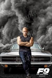 G-640 Fast /& Furious 9 2020 Movie F9 The Saga Poster 40 24x36 Art Decor