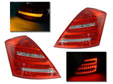 DEPO FACELIFT LOOK 07-09 MERCEDES BENZ W221 S CLASS RED / CLEAR LED TAIL LIGHT