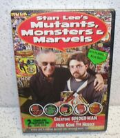 Stan Lee's Mutants, Monsters And Marvels Dvd Lee Comics Spiderman Out Of Print