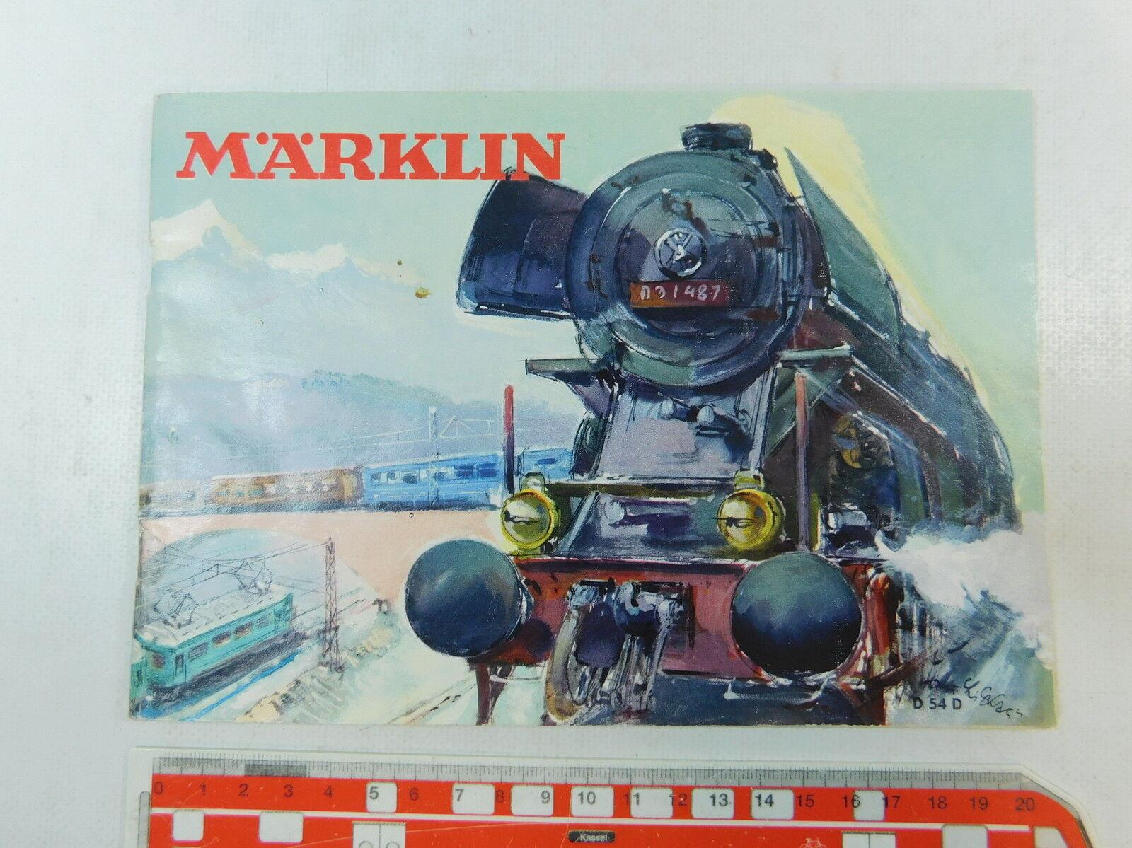 Av335-0,5    /MARKLIN CATALOGO D 54 D  senza BUONO ACQUISTO