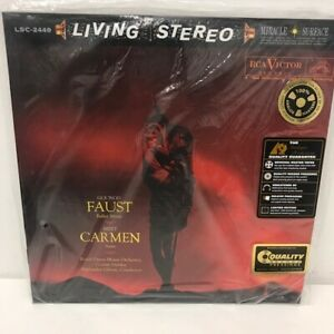Gounod-Faust-Ballet-Music-Bizet-Carmen-Suite-Living-Stereo-180-Gram-AAPC-2449