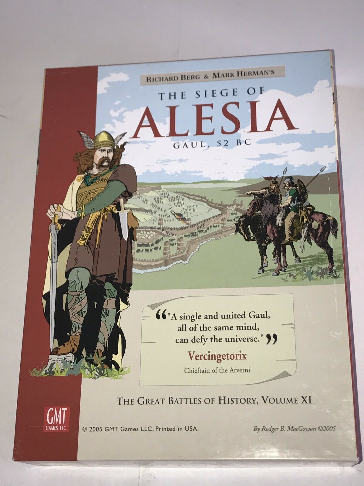 The The The Siege of Alesia wargame by GMT Games e1f7fa